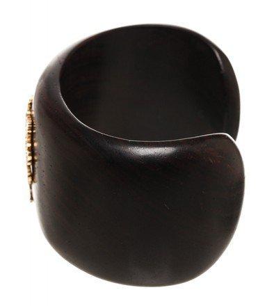 Emily West Brown Cuff  Bracelet - 5