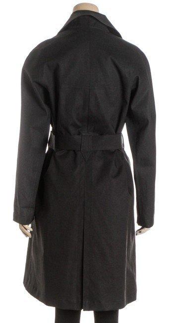 ALAÃA Black Cotton Coat - 2