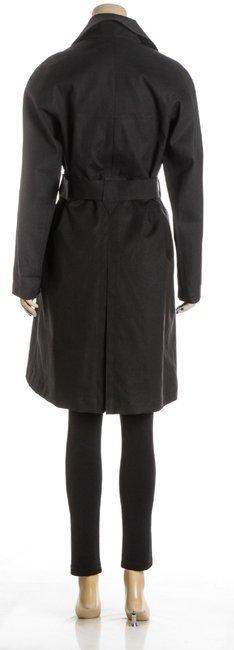 ALAÃA Black Cotton Coat - 5