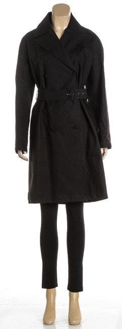 ALAÃA Black Cotton Coat - 6