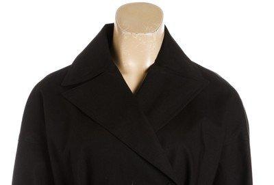 ALAÃA Black Cotton Coat - 7