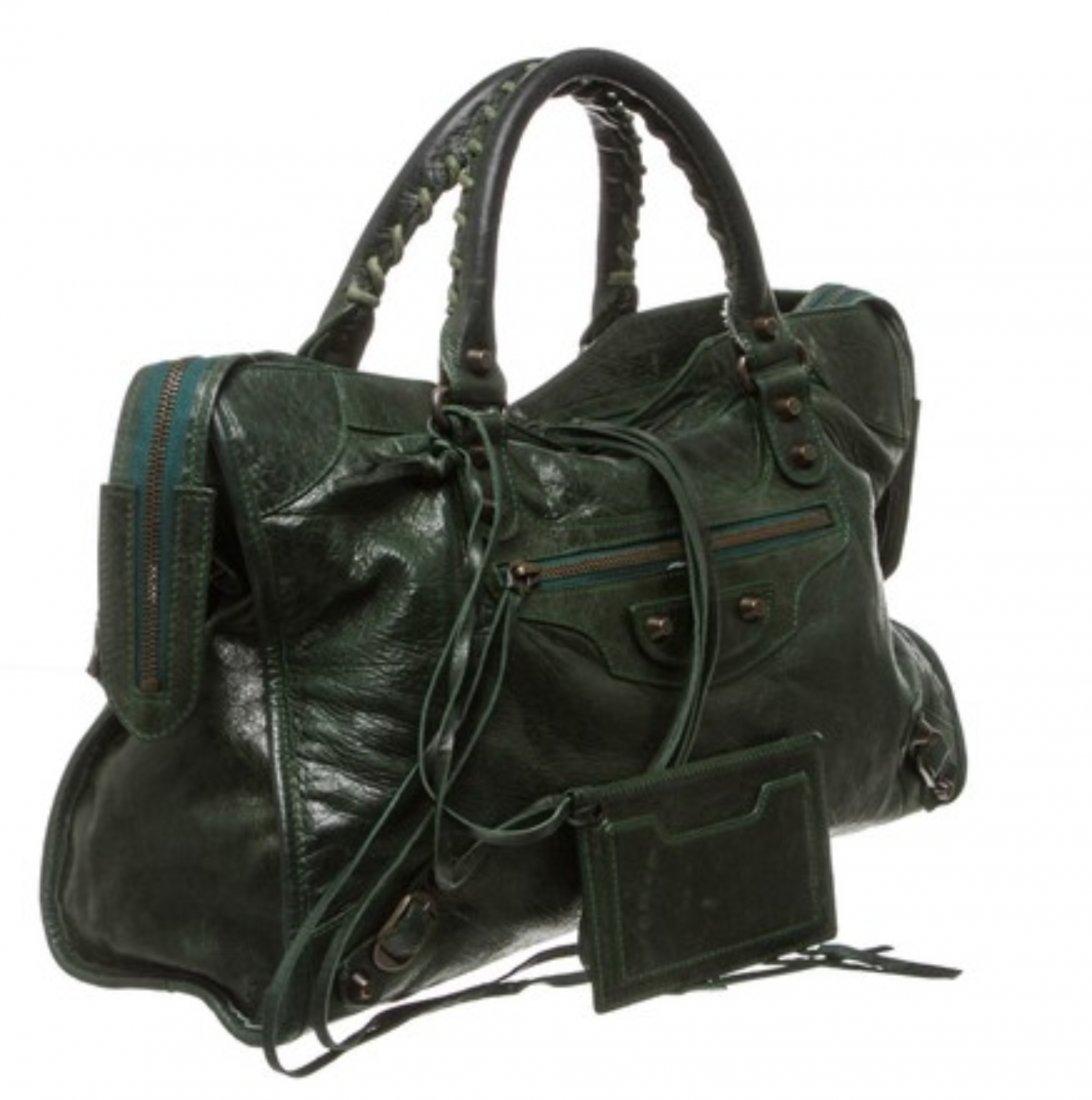 Balenciaga  Leather Shoulder Bag - 2