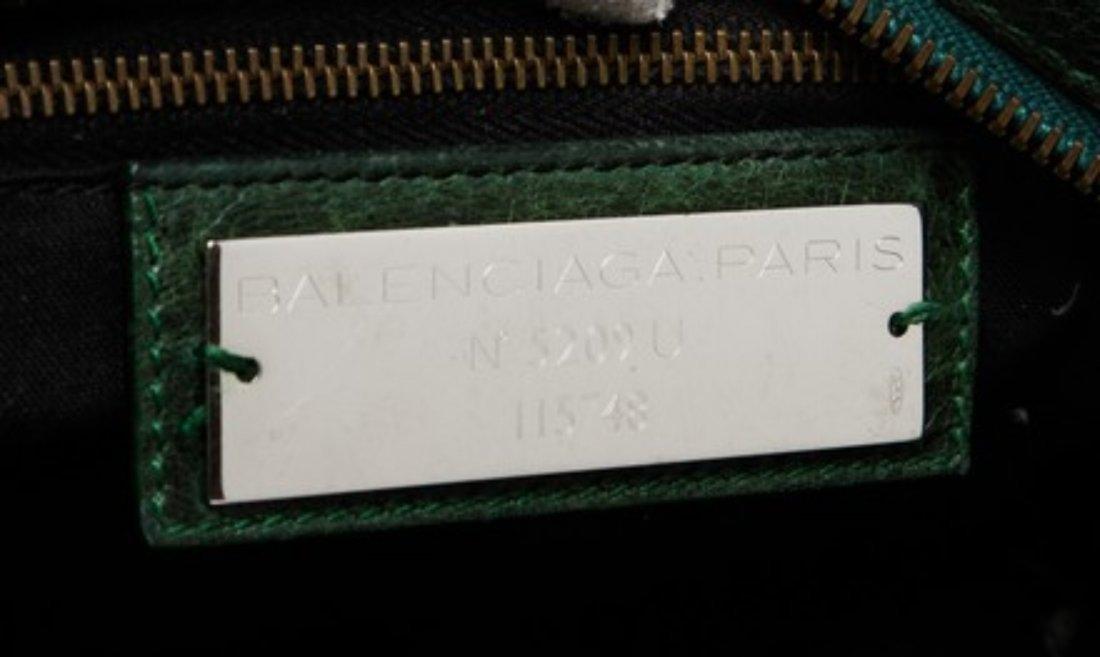Balenciaga  Leather Shoulder Bag - 5