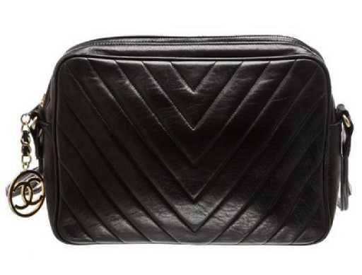 ebd1d79161dd Chanel Camera Vintage Lambskin Leather Shoulder Bag