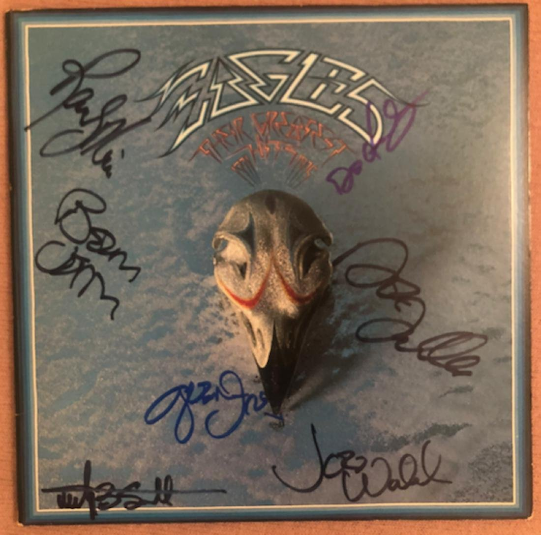 Signed Eagles Greatest Hits