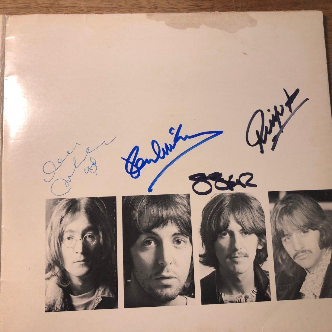 Signed Beatles White Album