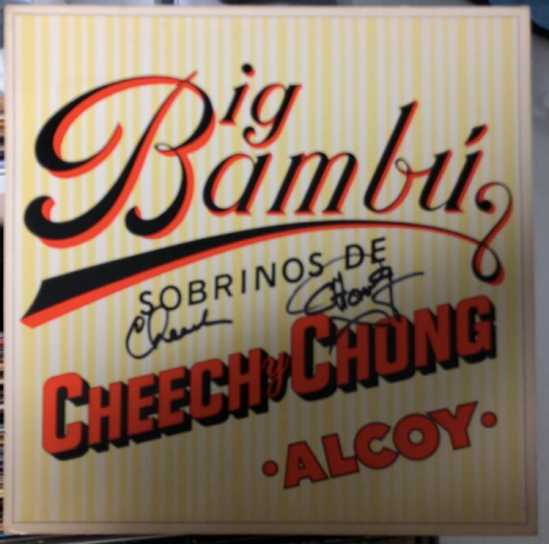 Signed Cheech & Chong Big Bambu