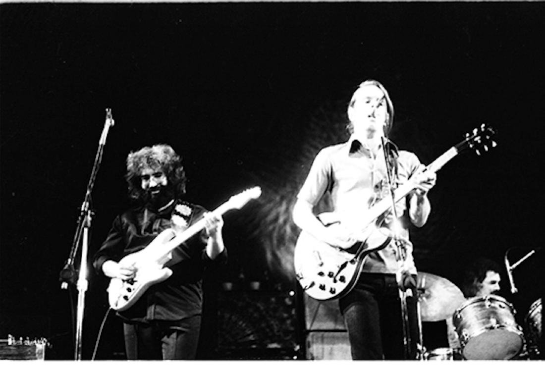 Jerry Garcia and Bobby Weir