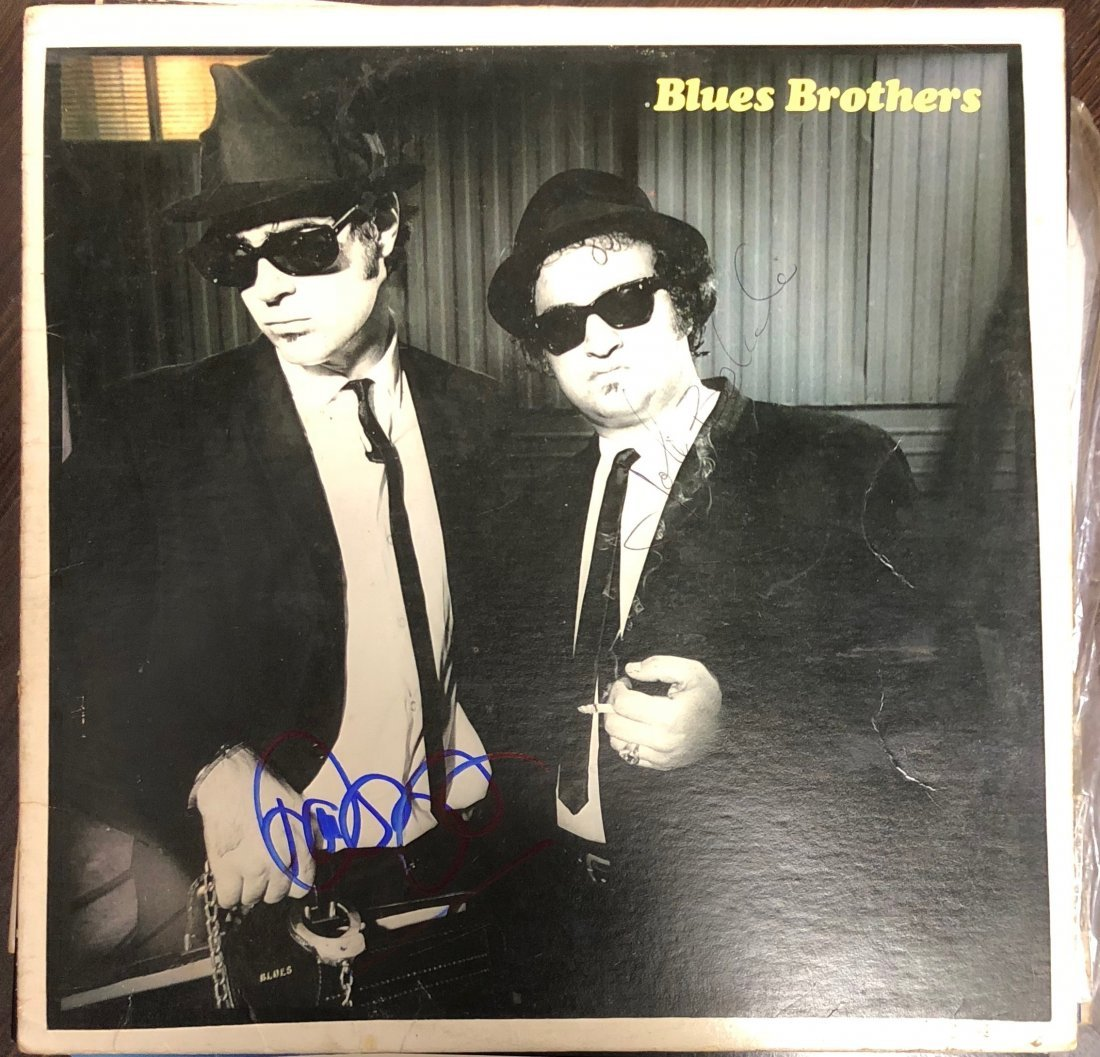 Signed Blues Brothers Album