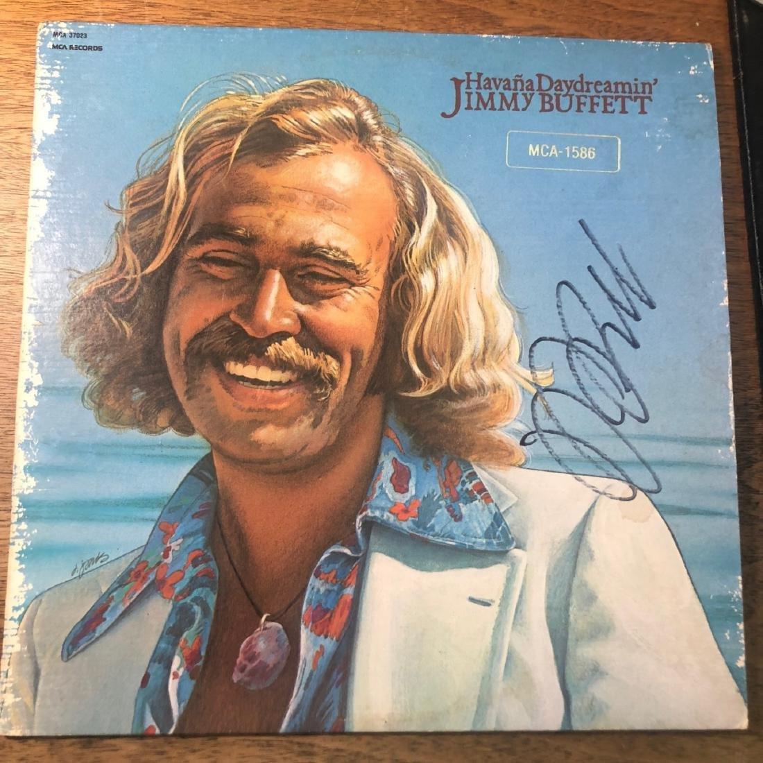 Signed Jimmy Buffet Havana Daydreaming Album