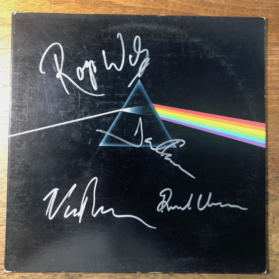 Signed Pink Floyd Dark Side of The Moon Album