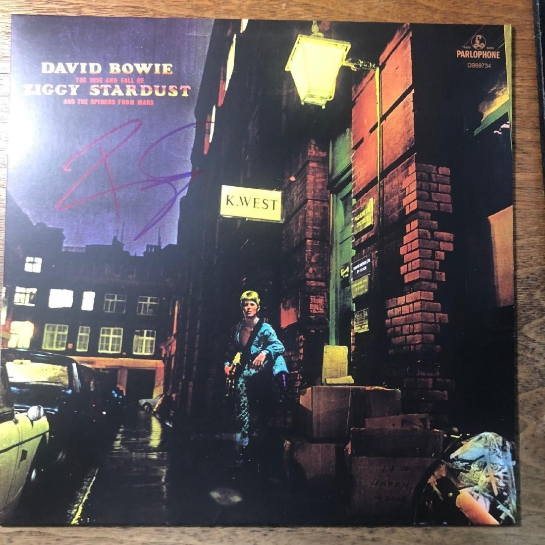 Signed David Bowie Ziggy Stardust Album