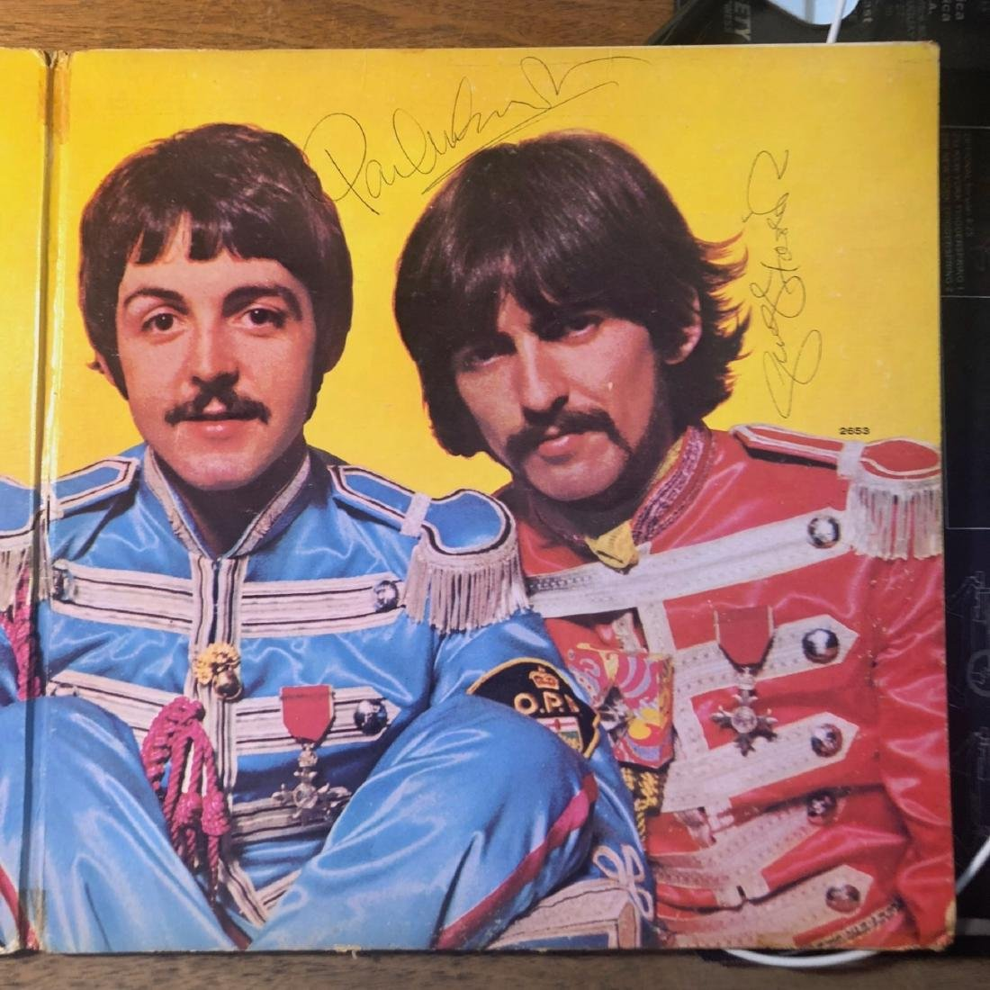 Signed Beatles Sgt Pepper Album