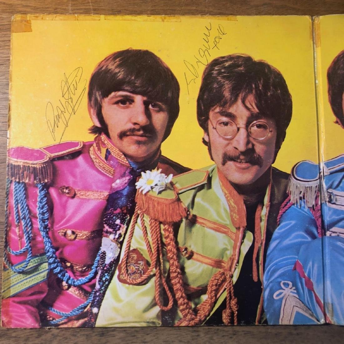 Signed Beatles Sgt Pepper Album - 2