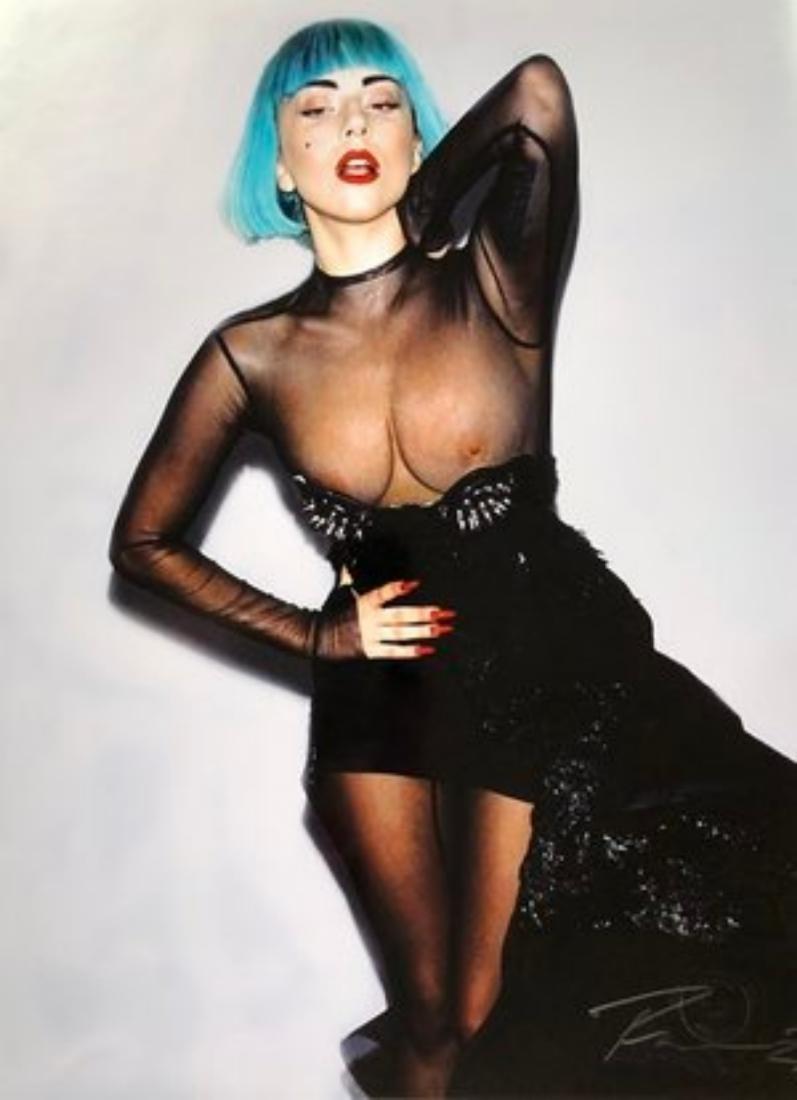 Lady Gaga Nipples