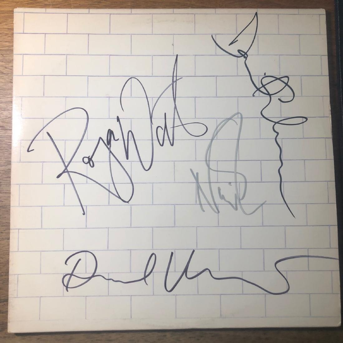 Signed Pink Floyd Wall Album