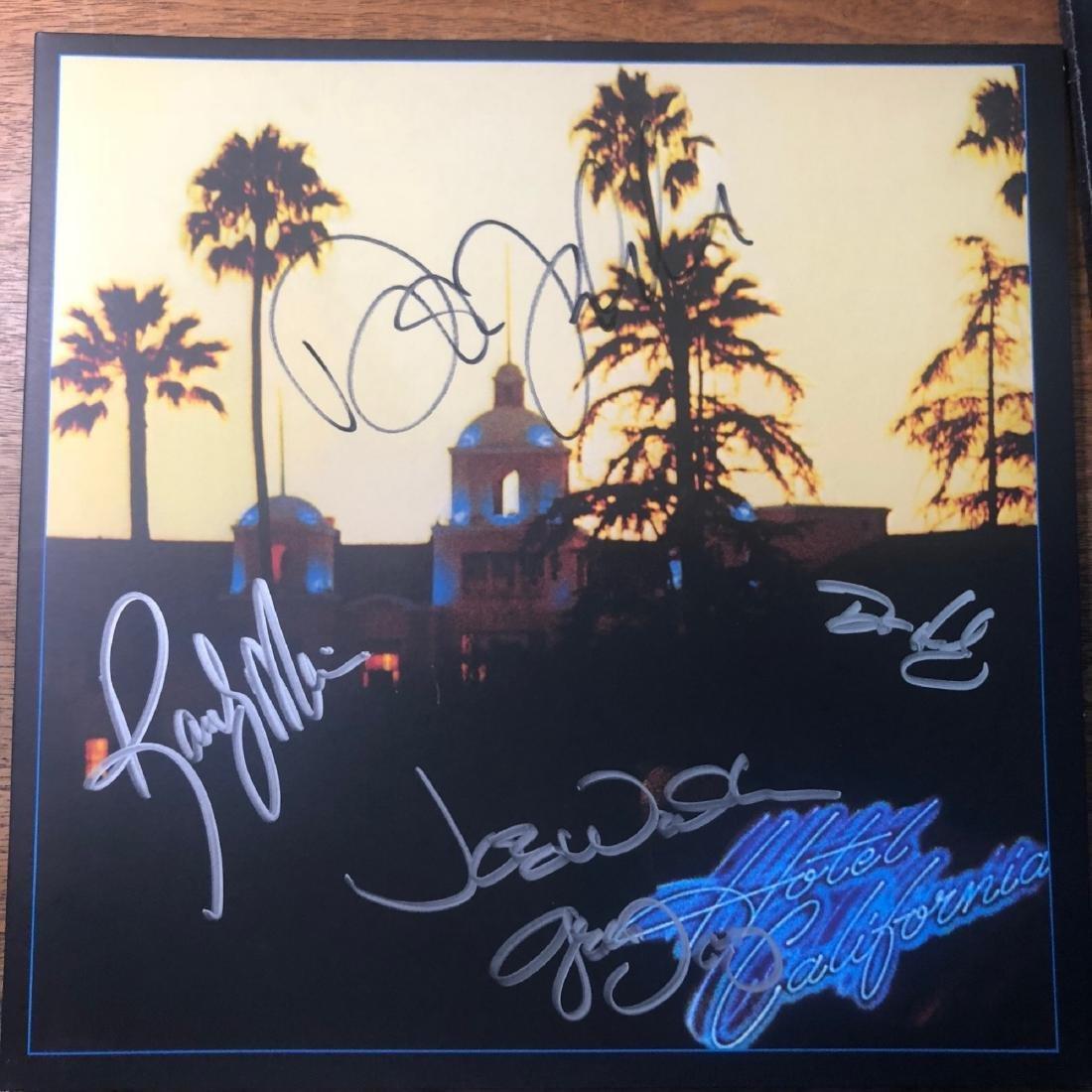 Signed Eagles Hotel California Album