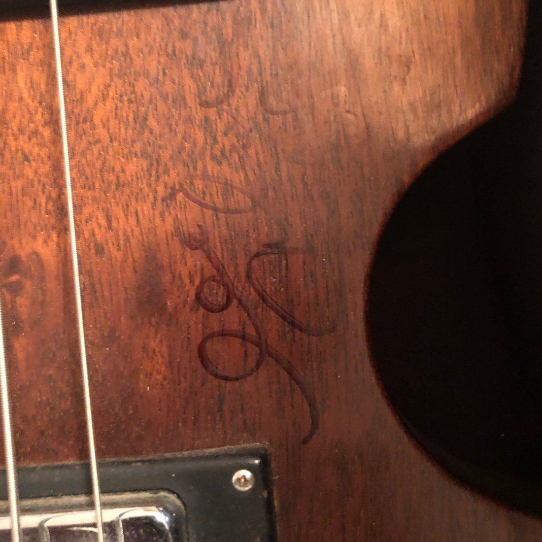 Signed Beatles Bass I - 2