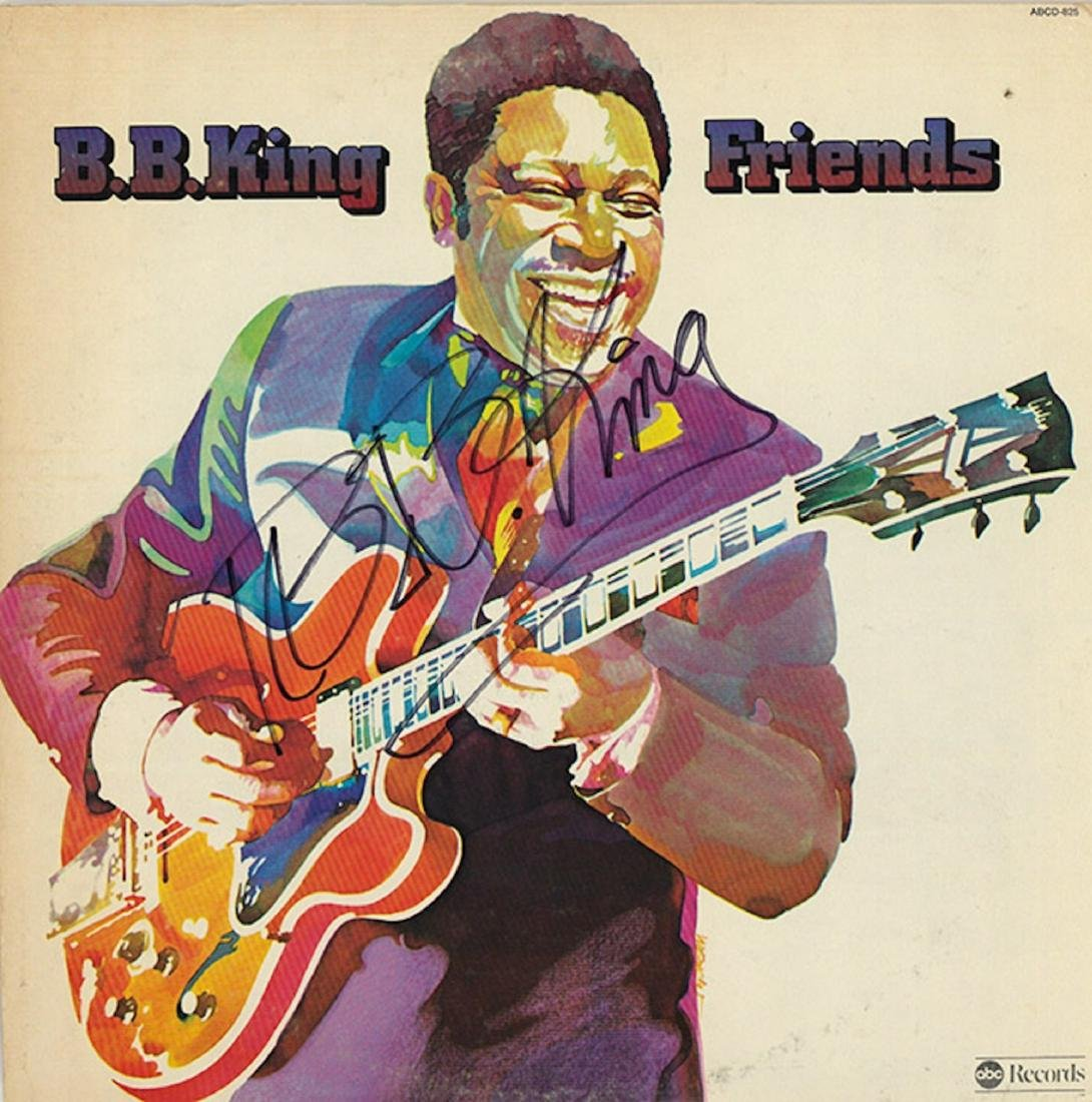 Signed BB King Friends Album