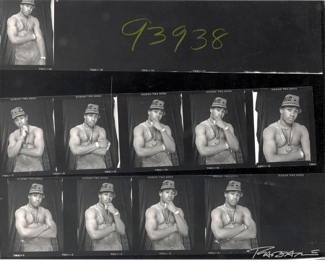 LL Cool J, NYC 1987 Contact Sheet