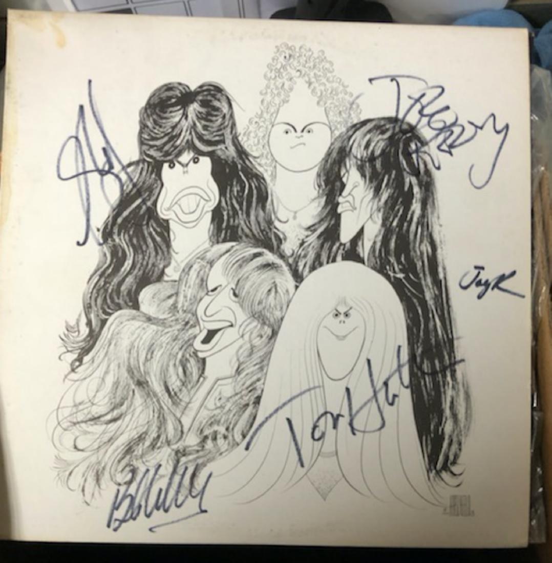 Signed Aerosmith Draw The Line
