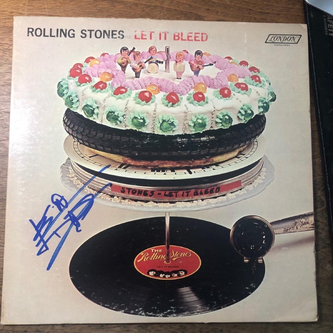 Signed Rolling Stones Let It Bleed Album