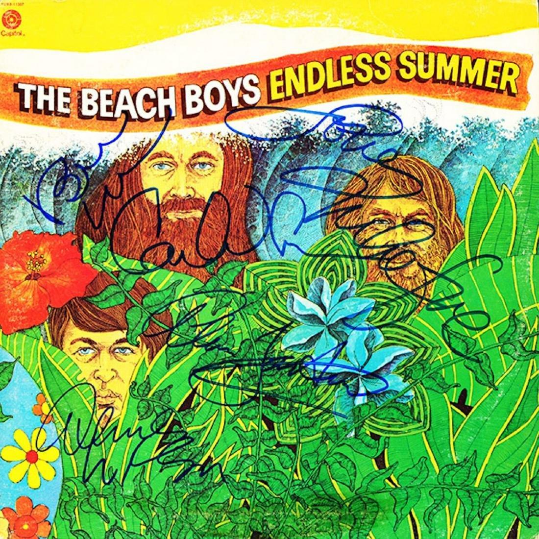 Signed Beach Boys Endless Summer Album