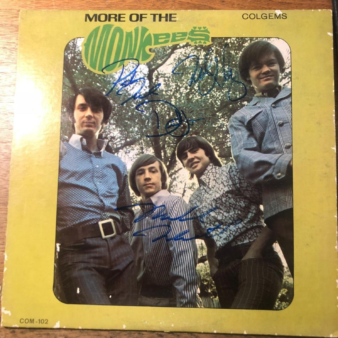 Signed Monkees More of the Monkees Album