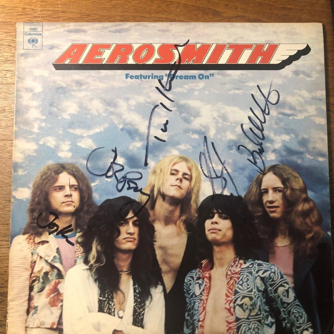 Signed Aerosmith Album