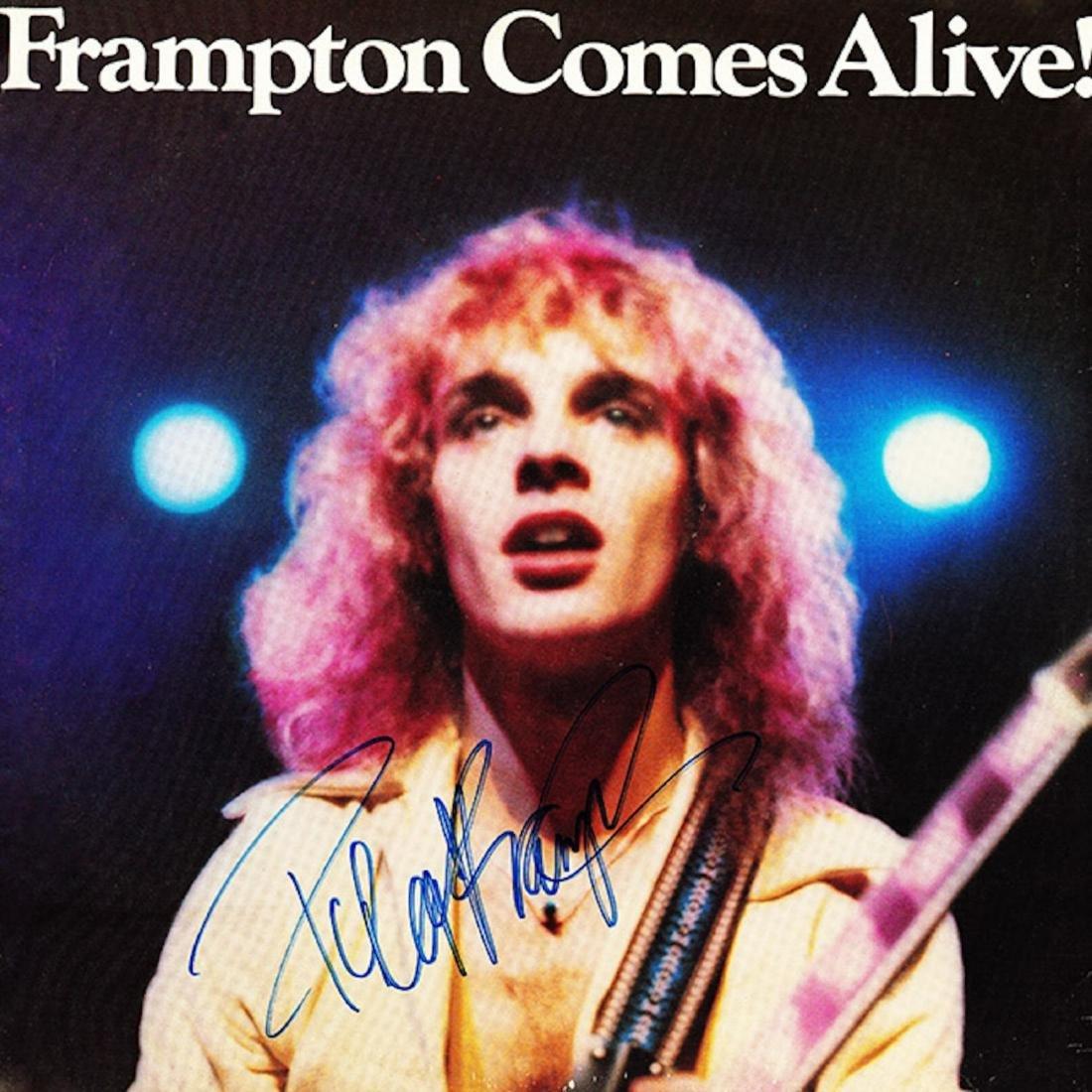 Signed Frampton Comes Alive Album