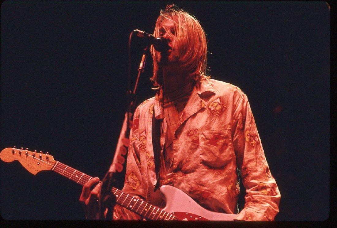 Kurt Cobain Roseland 1993