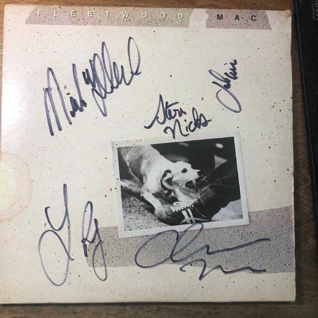 Signed Fleetwood Mac Tusk Album