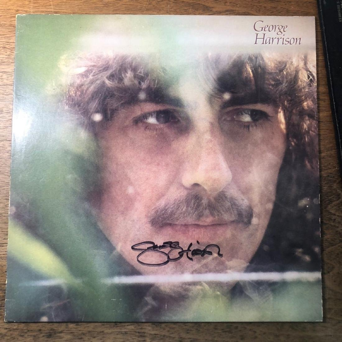 Signed George Harrison Self Titled Album