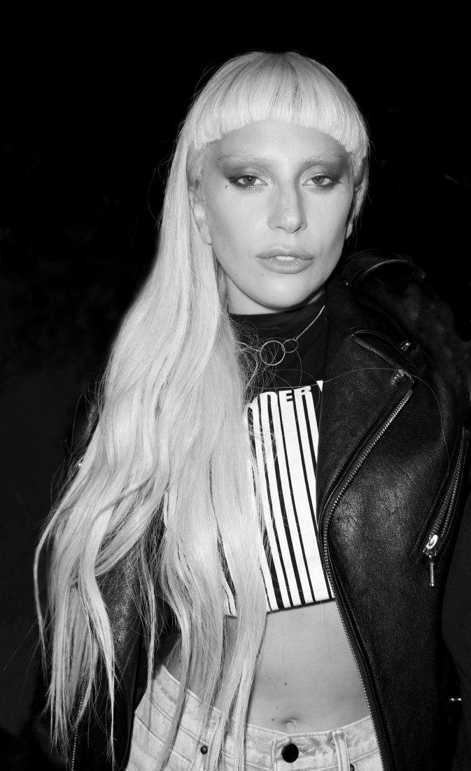 Lady Gaga B/W