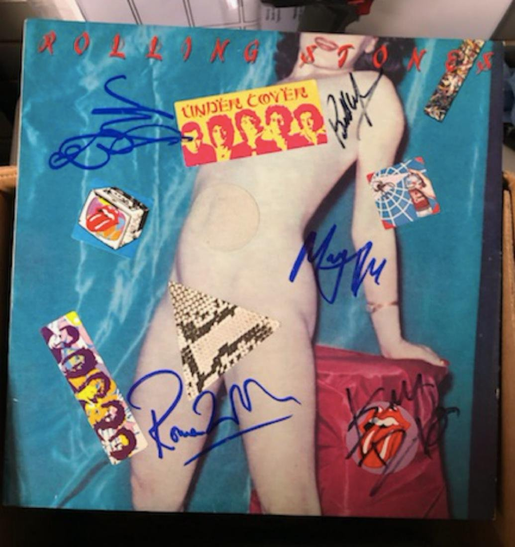 Signed Rolling Stones Undercover