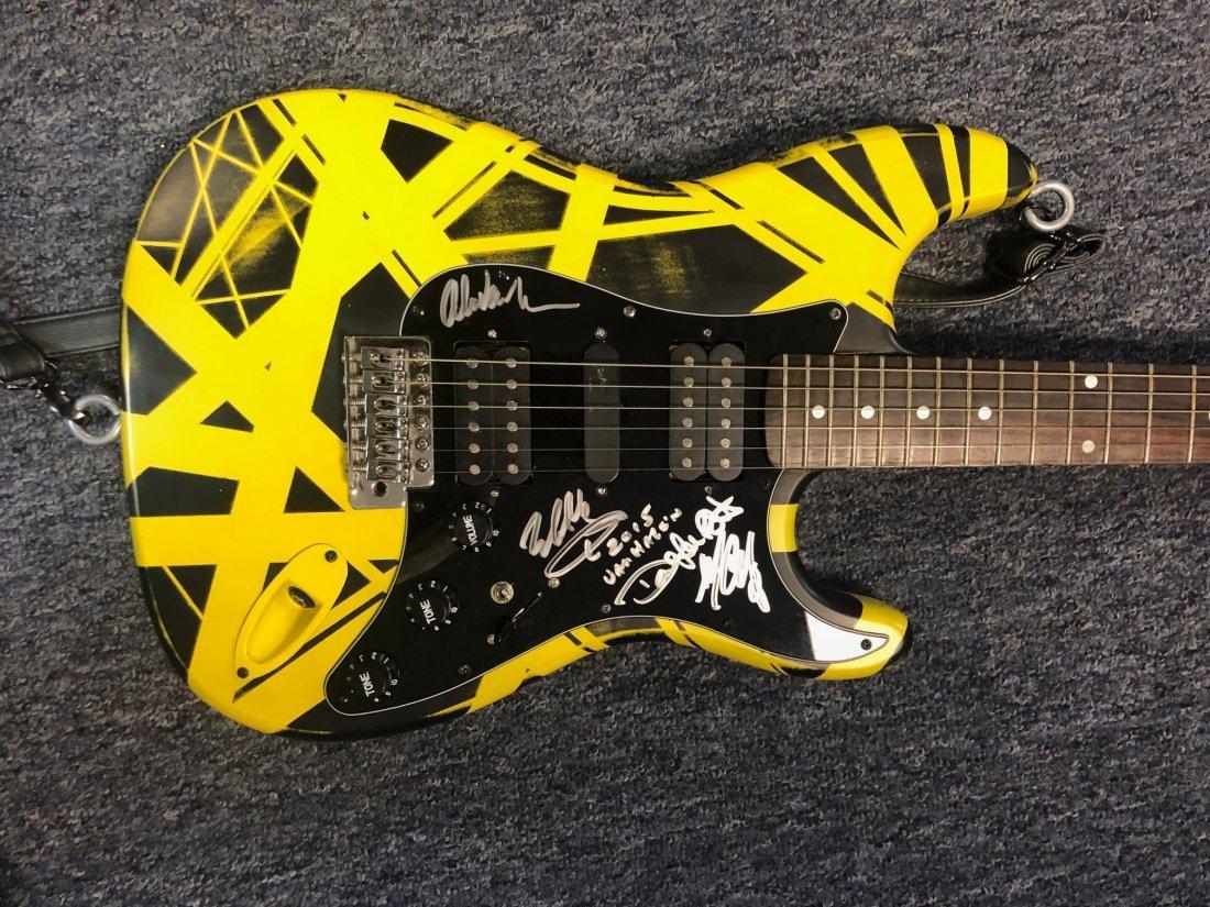 Signed Van Halen Guitar