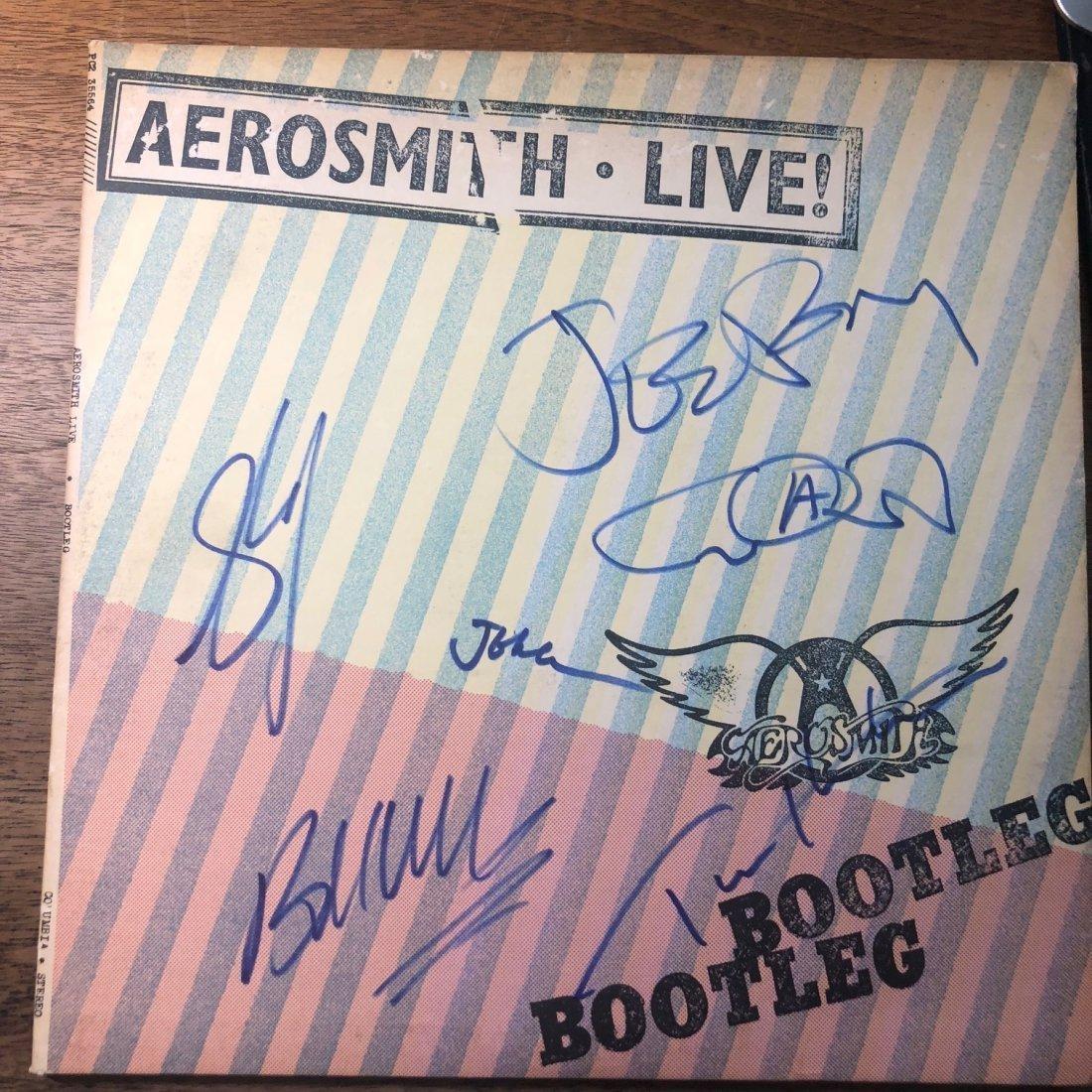 Signed Aerosmith Live Album