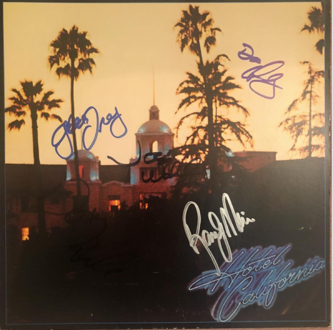Signed Hotel California