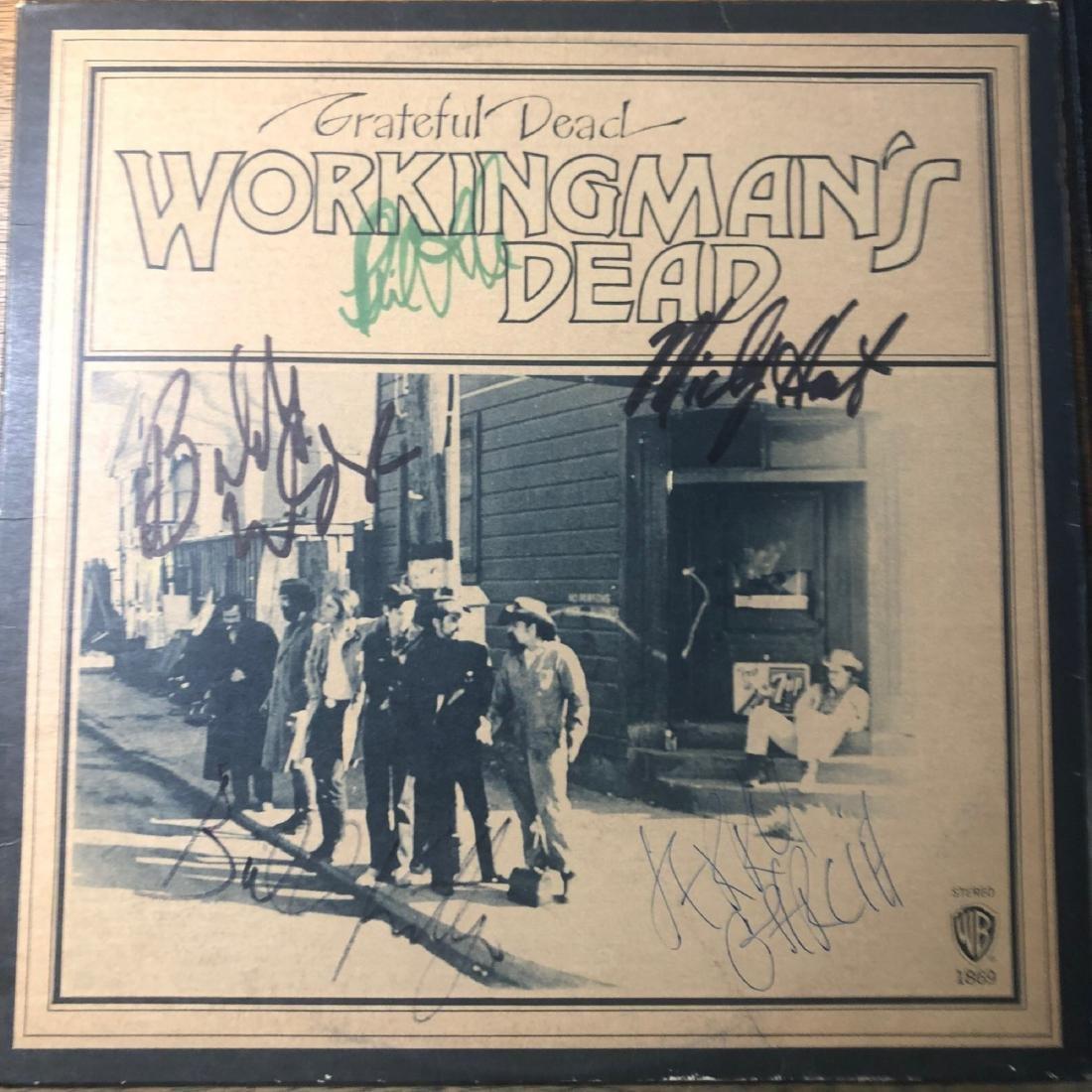 Signed Grateful Dead Workingman's Dead Album