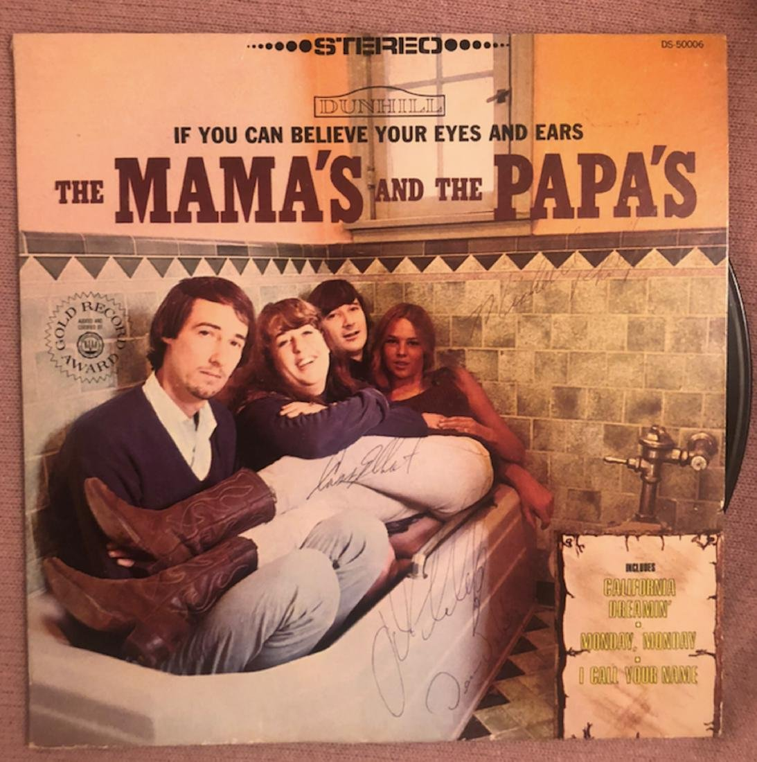 Signed Mamas and Papas If You Can Believe