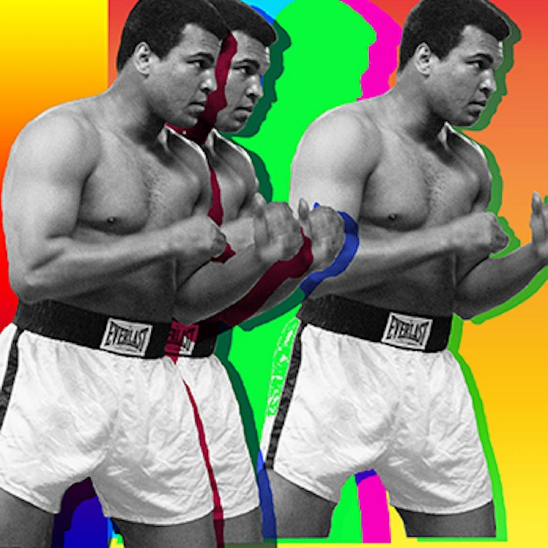 Muhammad Ali - 3 Ali's Pop Art