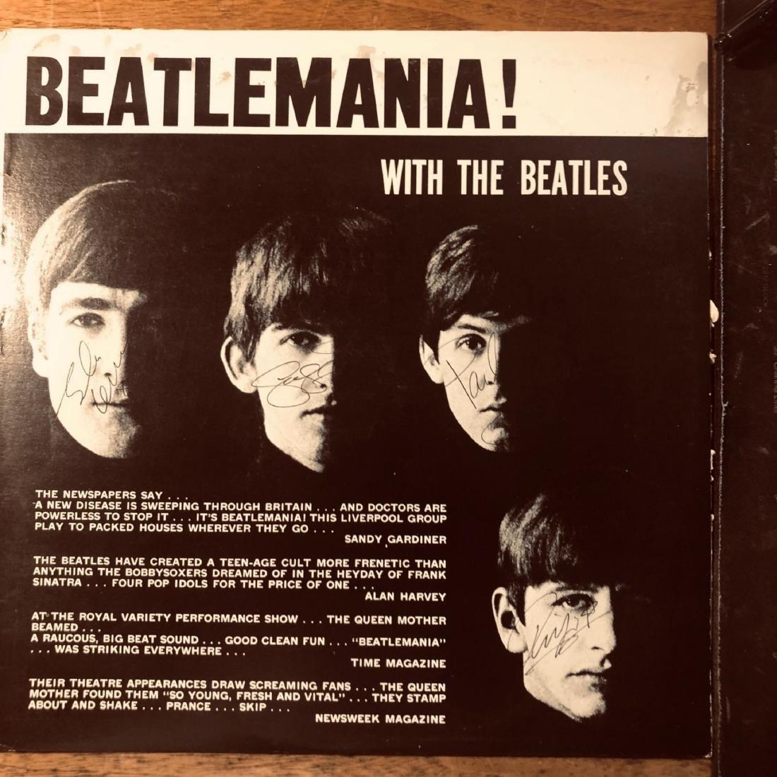 Signed Beatles Beatlemania Album