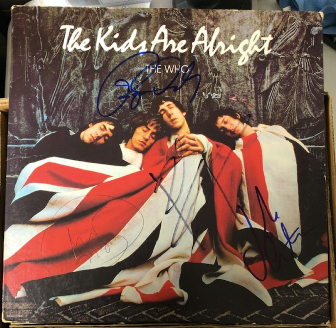 Signed Who The Kids Are Alright Album