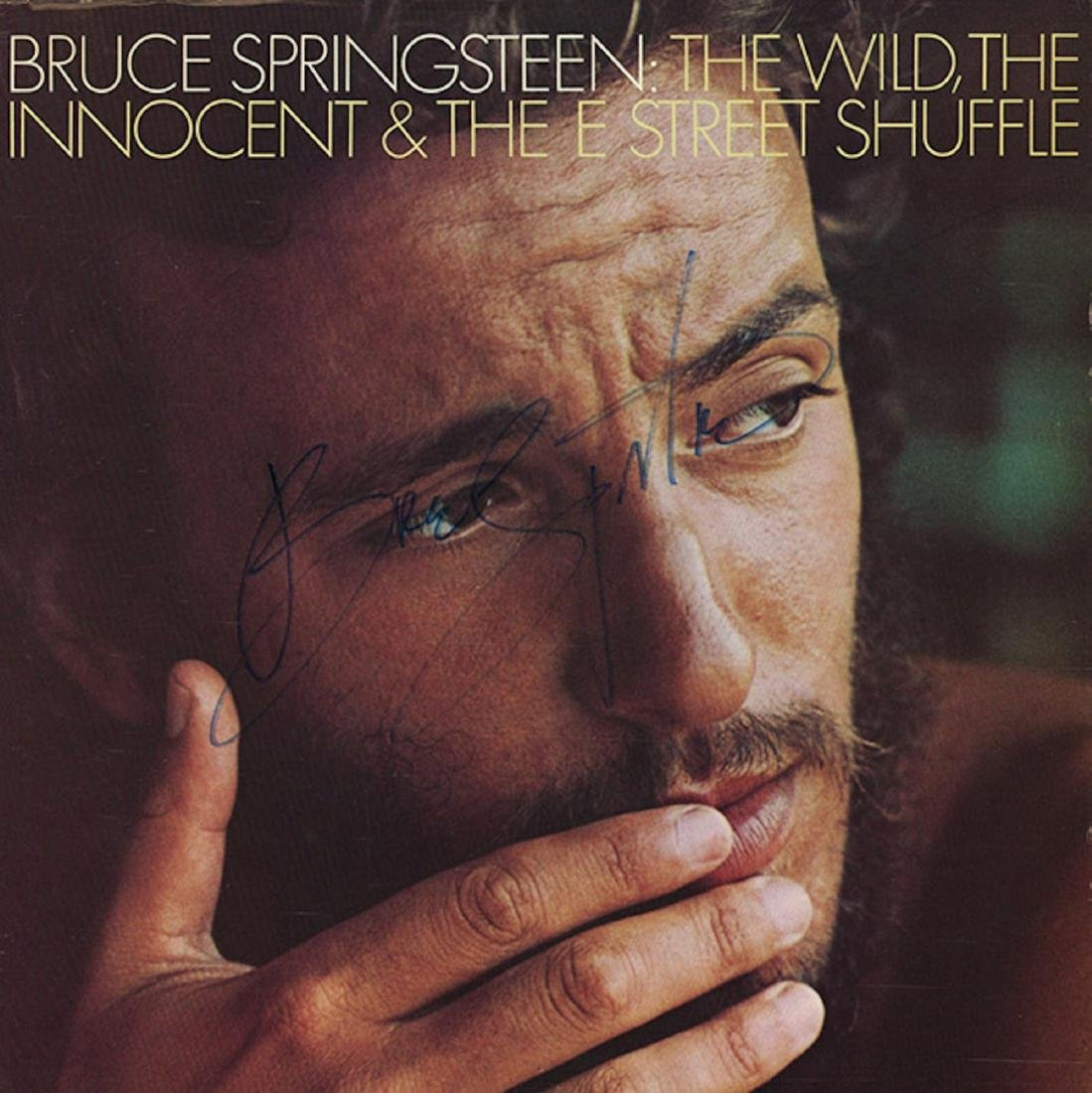 Signed Bruce Springsteen Wild Innocent and East Street
