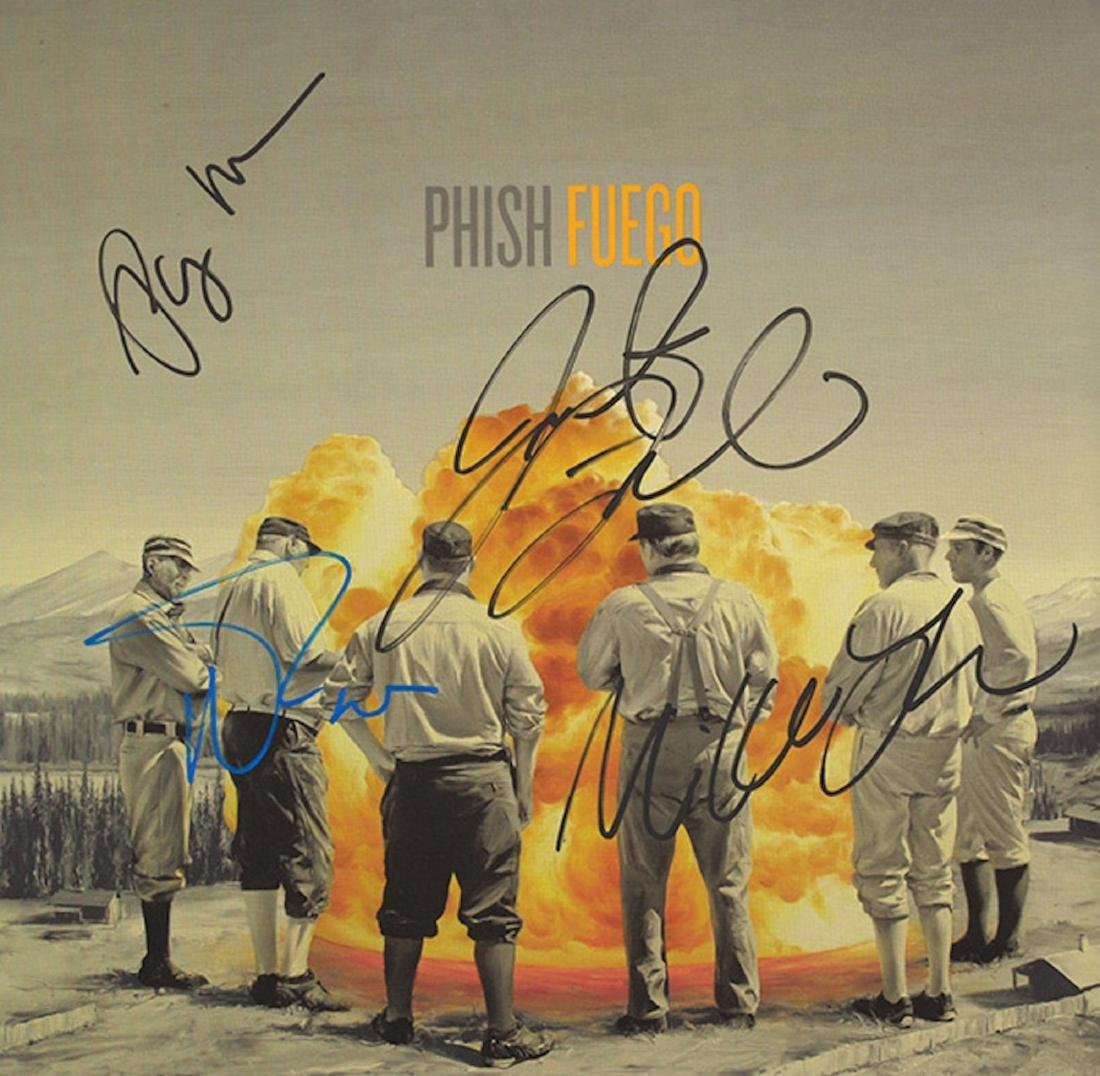 Signed Phish Fuego Album