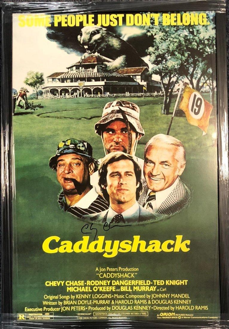 Signed Caddyshack Poster