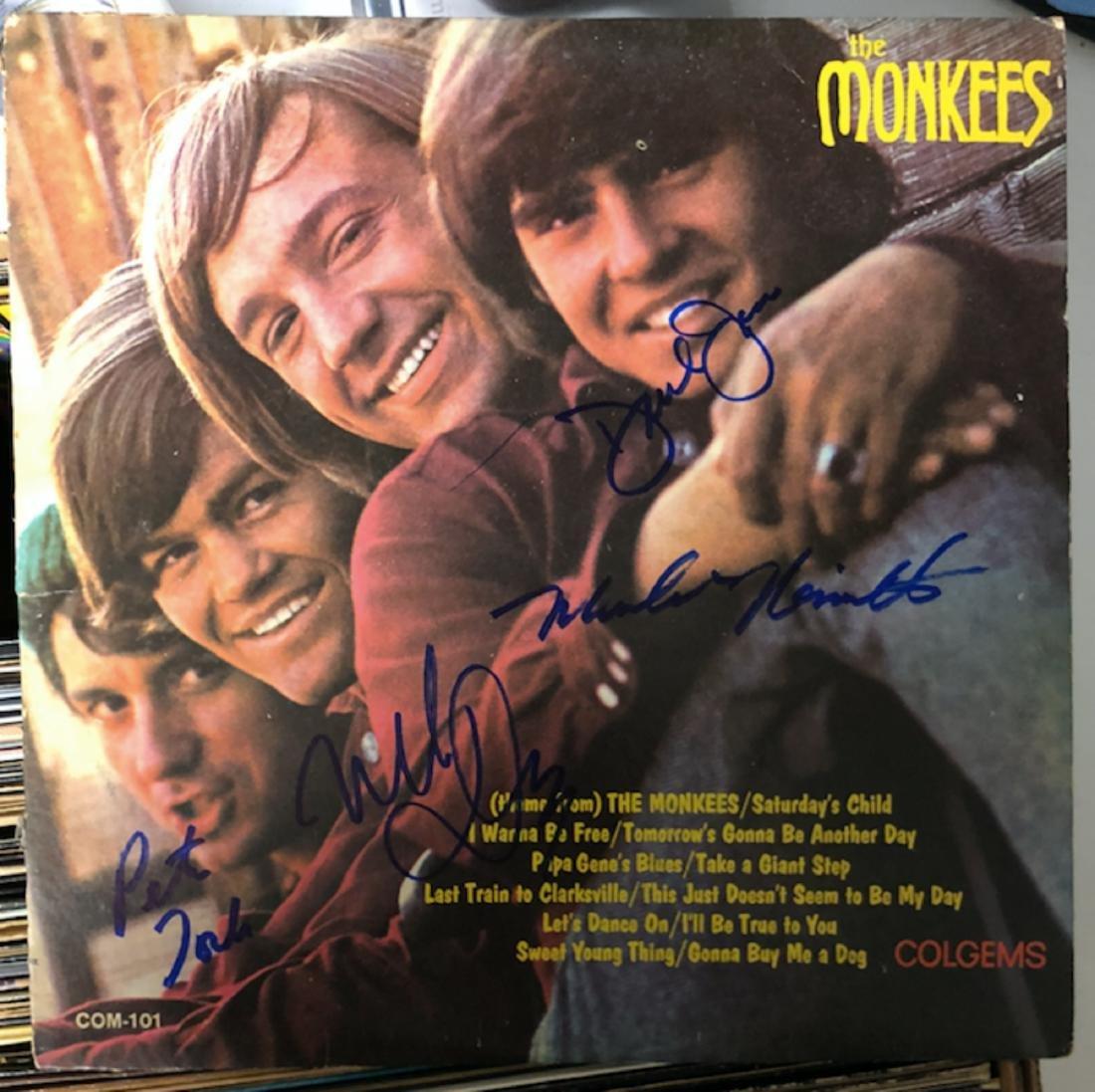 Signed Monkees Album