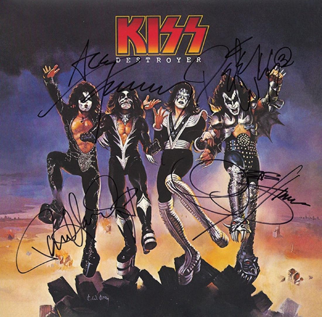 Signed Kiss Destroyer Album