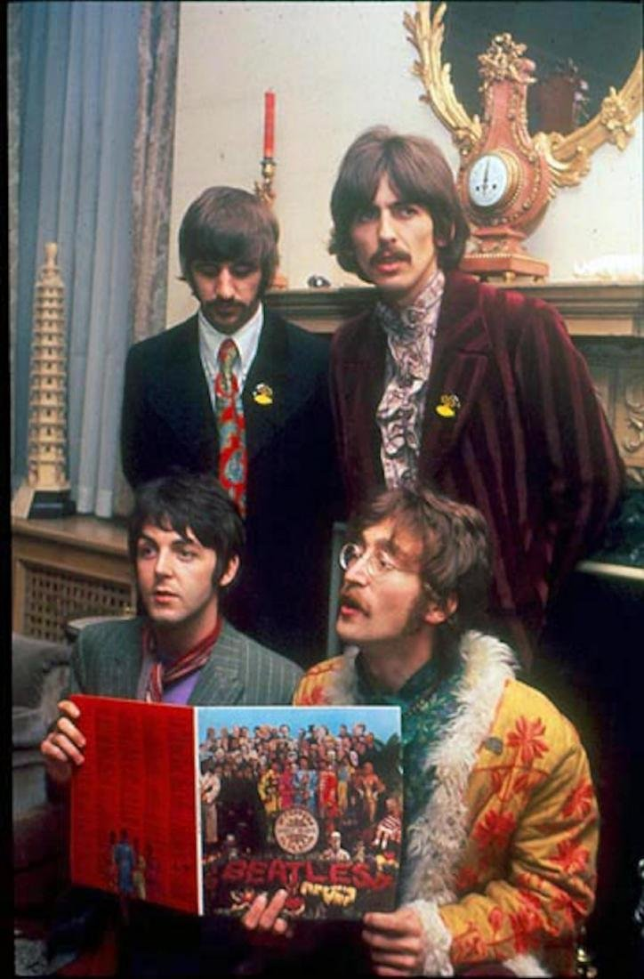 Beatles Sgt Pepper's Release