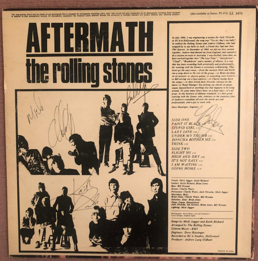 Signed Rolling Stones Aftermath